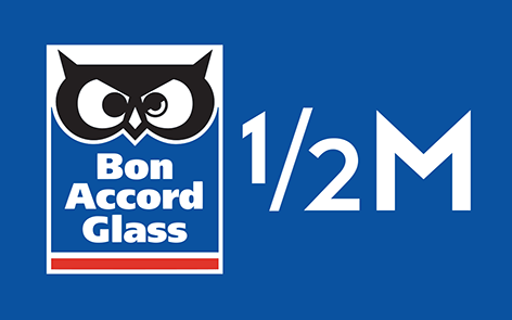 Bon Accord Glass Half Marathon